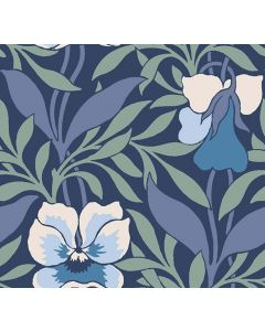 Liberty Hesketh House Harriet's Pansy - Blue