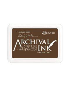Wendy Vecchi Designer Series Archival Ink Pad - Potting Soil
