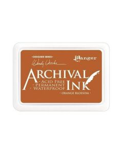 Wendy Vecchi Designer Series Archival Ink Pad - Orange Blossom