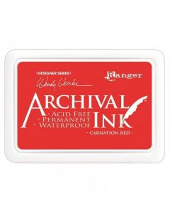 Wendy Vecchi Designer Series Archival Ink Pad - Carnation Red