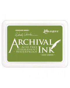 Wendy Vecchi Designer Series Archival Ink Pad - Leaf Green