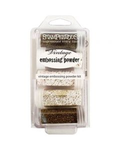 Stampendous Embossing Powder Kit - 5 Pack