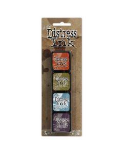 Tim Holtz Distress Ink Pads - Mini Kit 8