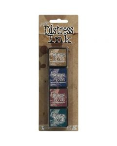 Tim Holtz Distress Ink Pads - Mini Kit 12