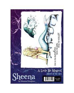 Sheena Douglass A Little Bit Magical A6 Rubber Stamp Set - Maid Of The Sea