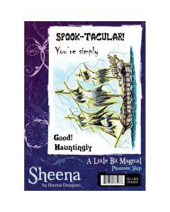 Sheena Douglass A Little Bit Magical A6 Rubber Stamp Set - Phantom Ship