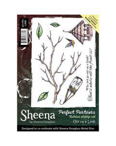 Sheena Douglass Perfect Partners A5 Rubber Stamp Set - Out On A Limb