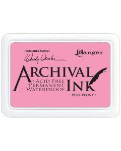 Wendy Vecchi Designer Series Archival Ink Pad - Pink Peony
