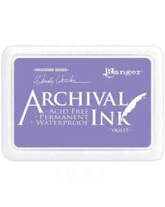 Wendy Vecchi Designer Series Archival Ink Pad - Violet