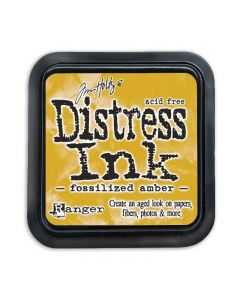 Tim Holtz Distress Ink Pad - Fossilized Amber