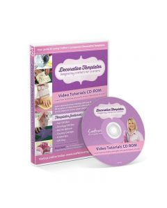 Crafter's Companion Decorative Templates Video Tutorials CD-ROM