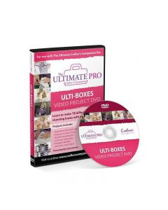 Crafter's Companion The Ultimate Pro - Ulti Boxes Video Project DVD