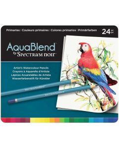 AquaBlend by Spectrum Noir 24 Pencil Set - Primaries