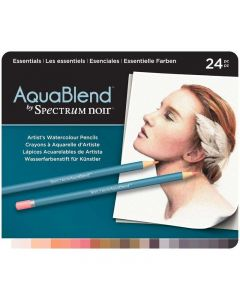 AquaBlend by Spectrum Noir 24 Pencil Set - Essentials