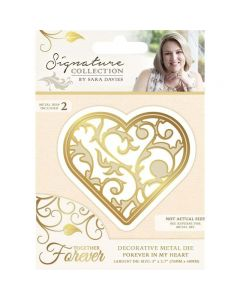 Sara Signature Together Forever Collection Metal Die - Forever in my Heart