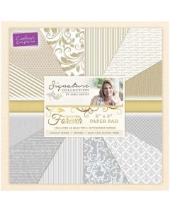 Sara Signature Together Forever Collection - 6x6 Paper Pad