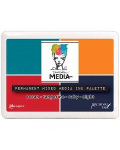 Dina Wakley Permanent Mixed Media Palette