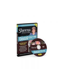 Sheena Douglass Messy Crafting with Sheena DVD - Volume 1