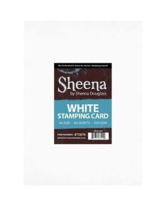 Sheena Douglass White Stamping Card A4 - Pack of 60