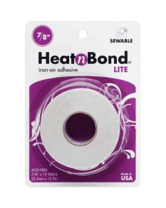 "Heat'n Bond Lite Iron-On Adhesive 0.875"" x 15 yards"