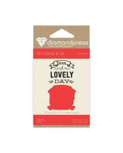 Diamond Press Mini Stamp and Die - Lovely Day