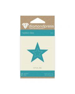 Diamond Press Nested Dies - Star