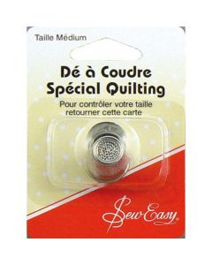 Sew Easy Non Slip Thimble Medium