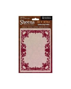 Sheena Douglass Perfect Partners Day of the Dead Embossing Folder - Baroque Frame