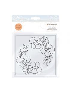 Tonic Studios Embossing Folder - Beautiful Blossom
