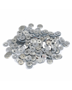 Groves and Banks 5mm Sequins Pack of 500 - Silver