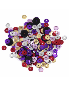 Groves and Banks 5mm Sequins Pack of 500 - Multicoloured