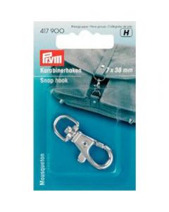 Prym Silver 7mm x 38mm Snap Hook