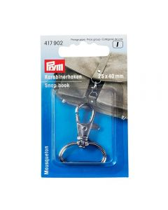Prym Snap hook 30mm - Antique Brass Brushed