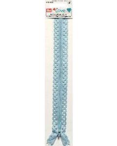 Prym 40cm Love Zip - Light Blue