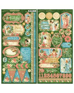 Graphic 45 Joy to the World - Stickers