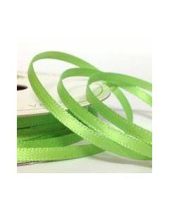 Three Kings Lime satin ribbon - 6mm