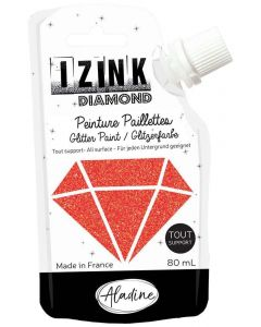 Aladine Izink Diamond Paint (80ml) - Rouge