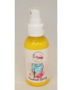 Imagination Crafts Textile Fashion Spray Paint - Lemon Yellow