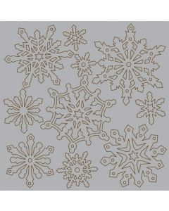 Imagination Crafts Magi-Cutz Snowflakes