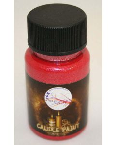 Imagination Crafts Starlights Candle Paint - Red