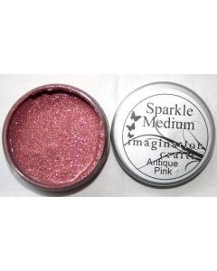 Imagination Crafts Sparkle Medium - Antique Pink