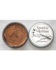 Imagination Crafts Sparkle Medium - Cinnamon