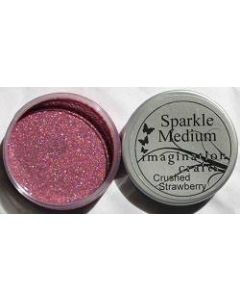Imagination Crafts Sparkle Medium - Crushed Strawberry