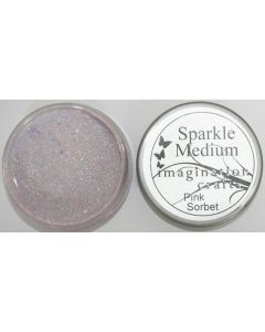 Imagination Crafts Sparkle Medium - Pink Sorbet
