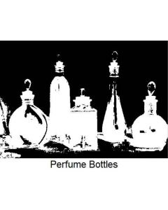 Imagination Crafts Art Stamps 135mm x 91mm - Perfume Bottles