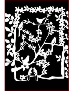 Imagination Crafts A4 Art Stencil - Amongst the Branches
