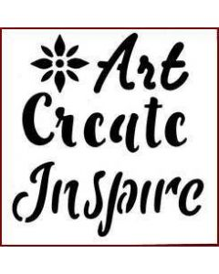 Imagination Crafts Mini Stencil - Art Create Inspire