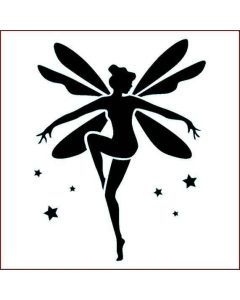 Imagination Crafts Stencil 6x6 - Fairy Dance