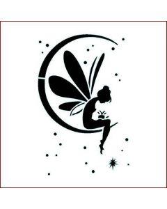 Imagination Crafts Stencil 6x6 - Fairy Moon