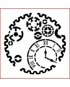 Imagination Crafts Stencil 6x6 - Gears